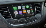 Vauxhall Grandland X Hybrid4 2020 UK first drive review - infotainment