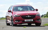 Vauxhall Insignia Sports Tourer 2018 UK first drive review - on the road front