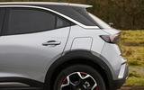 9 Vauxhall Mokka 2021 UK first drive review rear end
