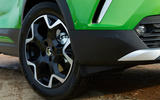 9 Vauxhall Mokka e 2021 UK first drive review alloy wheels