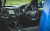 Volkswagen Amarok Aventura 2019 first drive review - dashboard