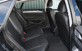 Volkswagen Arteon 1.5 EVO 2018 UK review rear seats