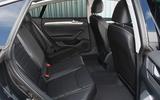 Volkswagen Arteon 1.5 EVO 2018 UK review rear seats