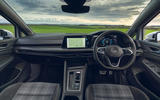 9 Volkswagen Golf GTD 2021 UK first drive review dashboard