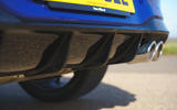 9 Volkswagen Golf R 2021 UK first drive review diffuser