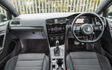 Volkswagen Golf R m52 2019 UK first drive review - cabin