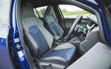 9 Volkswagen Golf R performance pack 2021 UK FD cabin