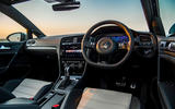 Volkswagen Golf R Performance Pack 2018 review cabin