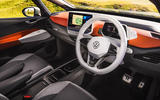 Volkswagen ID 3 2020 UK first drive review - cabin