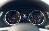Volkswagen Tiguan Life 2020 UK first drive review - instruments