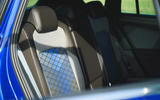 9 Volkswagen Tiguan R 2021 UK first drive review rear seats