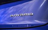 9 Volkswagen Touareg R eHybrid 2021 UK first drive review hybrid badge