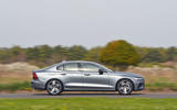 Volvo S60 T5 2019 UK first drive review - on the road side