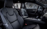 Volvo V60 Cross Country 2019 first drive review - front seats