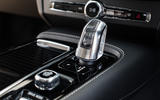 Volvo V90 B5 2020 UK first drive review - gearstick