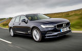 Volvo V90 R-Design Pro 2018 UK first drive review - on the road front