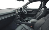 9 Volvo XC40 Recharge P8 2021 UK first drive review cabin