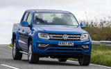 Volkswagen Amarok V6 2018 UK review on the road