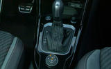 Volkswagen T-Roc R 2019 first drive review - gearstick