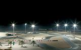 90 Apex circuit design Dubai Kartdrome Night