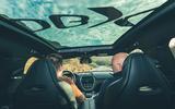 Aston Martin DBX 2020 prototype drive - Matt Saunders driving