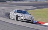 Audi E-tron GT camo tracking - front