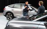 90 Audi Q4 etron 2021 official reveal talking