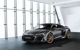 Audi R8 V10 Decennium official press images - static front