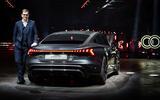 90 Audi RS E tron GT 2021 official reveal Duesmann static