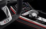 Audi RS Q8 2020 official reveal photos - centre console