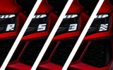 90 Audi RS3 2021 official reveal hatch headlights