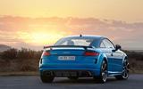Audi TT RS 2019 facelift - official press images - static rear