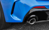 BMW 1 Series 2019 official reveal - exhaust