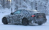 BMW 2 Series Coupe winter test spy images - rear
