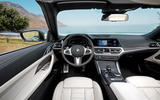 2021 BMW 4 Series Convertible official images - cabin