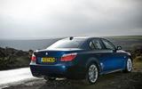 BMW 5 Series E60 road test rewind - static