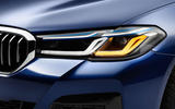 BMW 530e 2020 facelift official images - front light