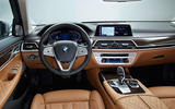 2019 BMW 7 Series official reveal - dashboard