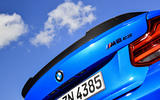 BMW CS 2020 official press images - spoiler