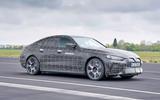 90 BMW i4 2021 prototype drive tracking