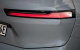 90 BMW iX prototype ride 2021 rear lights