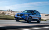 90 BMW X3 M 2021 LCI official images road front