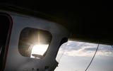 Autocar Christmas Road Test 2020: the Goodyear Blimp - windows