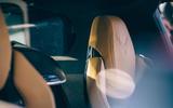 Corvette C8 vs Porsche 911 UK - Corvette seat details