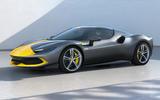 90 Ferrari 296 GTB 2021 Assetto Fiorano front