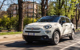 90 Fiat 500 Hey Google 500x tracking front