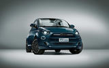 Fiat 500 - stationary front
