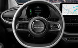 Fiat 500 electric 2020 official press images - steering wheel