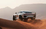 90 Gemballa Marsien official reveal images dune rear