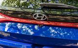 Hyundai i20 2020 prototype drive - rear badge